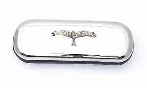 Red Kite Style Glasses Spectacle Case Falconry Present FREE ENGRAVING