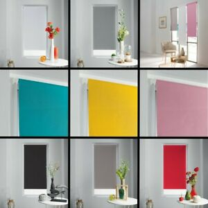 Occult-Ready-Made-Plain-Blackout-Window-Roller-Blinds-45-60cm-Widths-8-Colours
