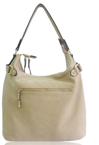 Ladies Women Designer Genuine LYDC Shoulder Handbag Leather Style Satchel Bag
