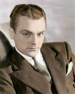 JAMES-CAGNEY-HOLLYWOOD-ACTOR-amp-MOVIE-STAR-8x10-034-HAND-COLOR-TINTED-PHOTOGRAPH
