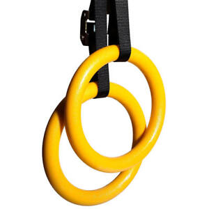 PHAT® Gymnastic Rings, Fitness Rings w/ Adjustable Buckles Straps Birthday Gift