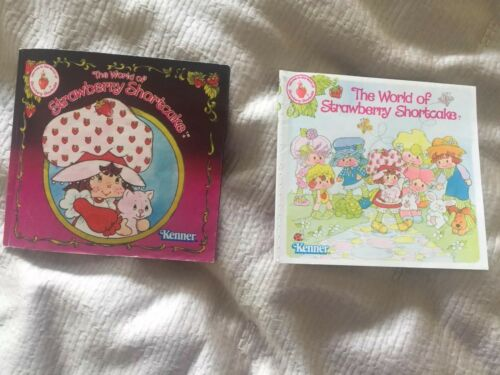 Kenner Strawberry Shortcake Lot of 2 Brochures Rare