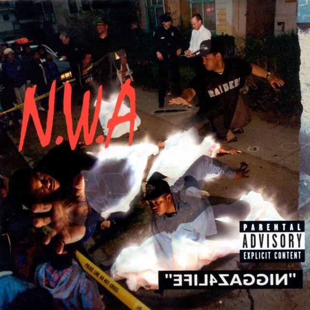 N.W.A. - EFIL4ZAGGIN  (LTD.BACK TO BLACK EDT.)  VINYL LP NEUF