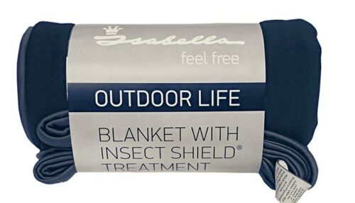 Caravan Accessories Isabella Blanket With Insect Shield Treatment