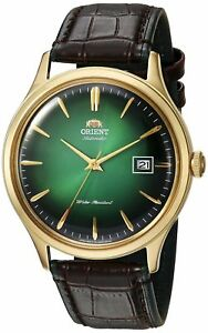 Orient-Men-039-s-039-Bambino-Version-4-039-Japanese-Automatic-Stainless-Steel-and-Leath