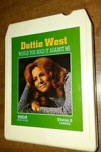 Would-You-Hold-It-Against-Me-Dottie-West-8-Track-1973-RCA-records
