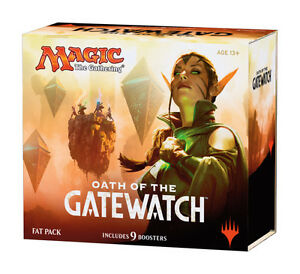 Oath-of-the-Gatewatch-Fat-Pack-Magic-the-Gathering-Sealed-Full-Art-Lands-MTG
