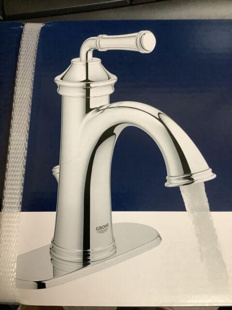 Grohe Gloucester Chrome 1 Handle Centerset Watersense Bathroom Sink Faucet For Sale Online Ebay