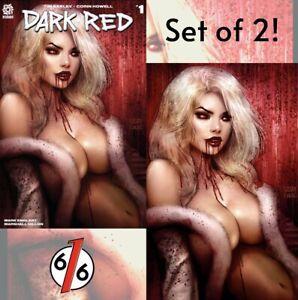 DARK-RED-SPECIAL-EDITION-KINCAID-amp-SZERDY-Variant-Set-Of-2-Ltd-1000-NM