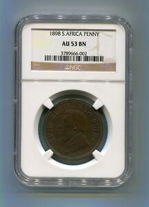 South-Africa-Zar-NGC-Certified-1898-Kruger-Penny-Au-53-Bn-Coin