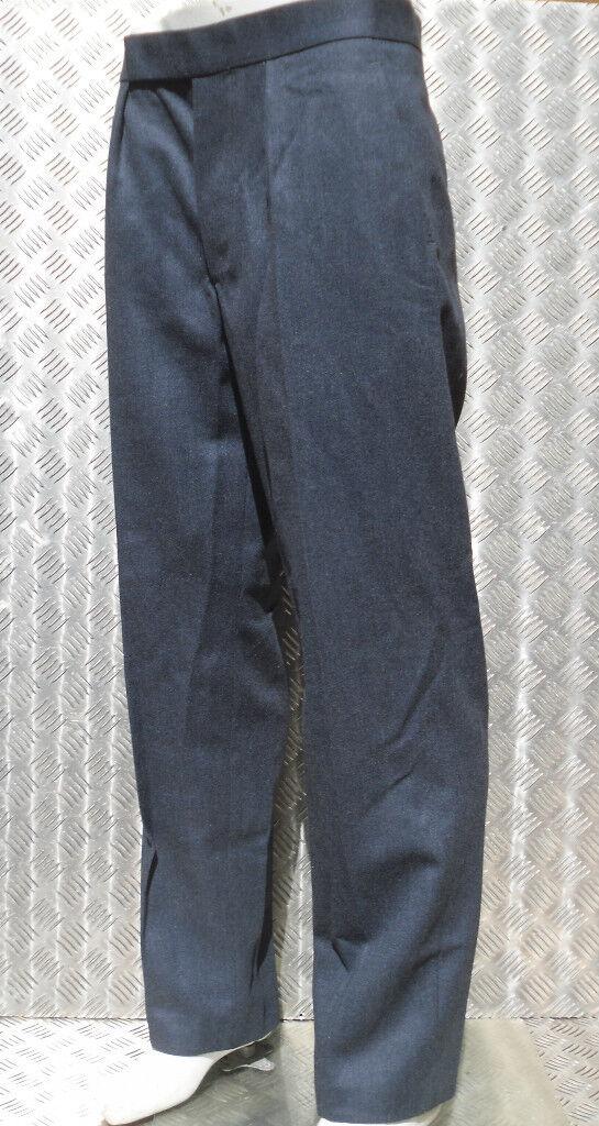 Genuine British RAF Royal Air Force Number 1  No1 Dress Trousers - Various Sizes