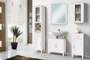 Galdem Garda Badmobel Set Mit Spiegel Unterschrank Badezimmer Holz
