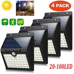 LED-Energia-Solare-Sensore-di-Movimento-Pir-Luce-da-Esterno-Giardino-Sicurezza