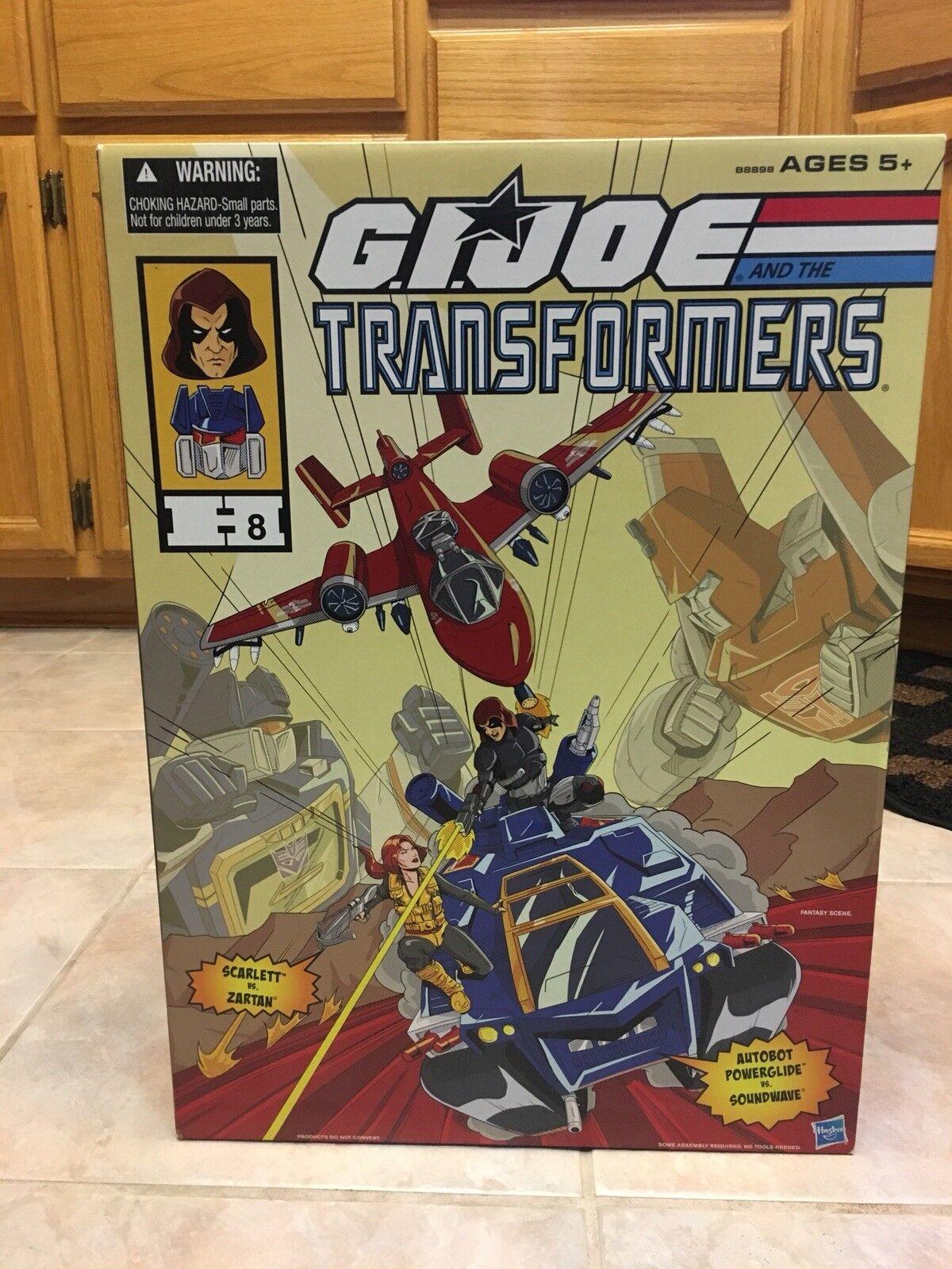 Brand New G.I. Joe & Transformers Crotver 2016 SDCC Exclusive
