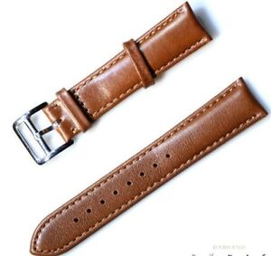 Mens-Watchs-Band-Wristwatch-Strap-Replacement-Cow-Leather-Belt-18-19-20-21-22mm