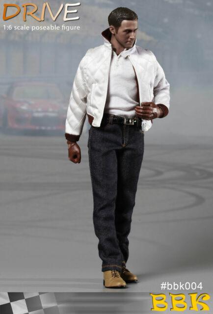 Head BBK Action Figures - 1//6 Scale Gosling Drive Driver Ryan
