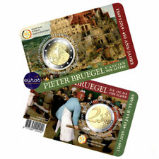 Coincard 2 euros BELGIQUE 2019 FRANCAIS - 450 ans Pieter Bruegel l'Ancien - BU