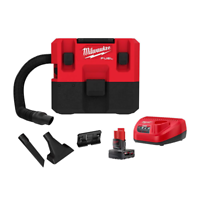 Milwaukee M12 Fuel 12-Volt 1.6 Gal. Wet/Dry Vacuum Kit