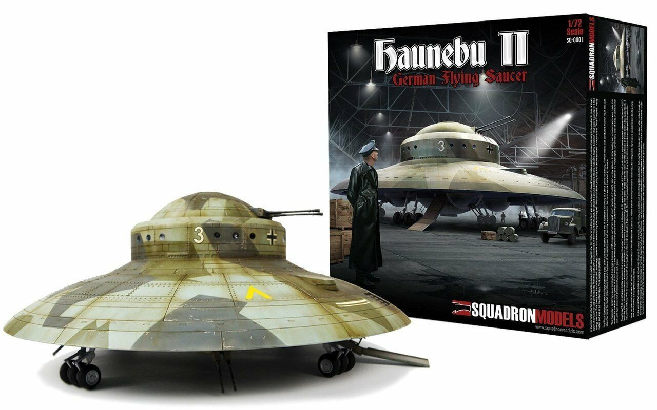 Squadron Models 1 72 Haunebu II German Flying Saucer Model Kit,  SQM-0001
