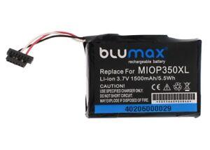 Blumax Akku für MIOP 350XL, Mio 138, E4MT081202B12, E4MT081202B22, 1500mAh