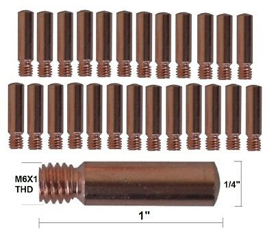 .035-30 tips Tips 14-35 Lincoln .035 Magnum 200-400 Tweco #2-#4 Replacement Contact