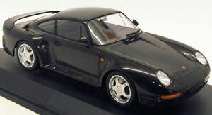 Minichamps-1-18-Scale-Model-Car-155-066205-1987-Porsche-959-Metallic-Grey