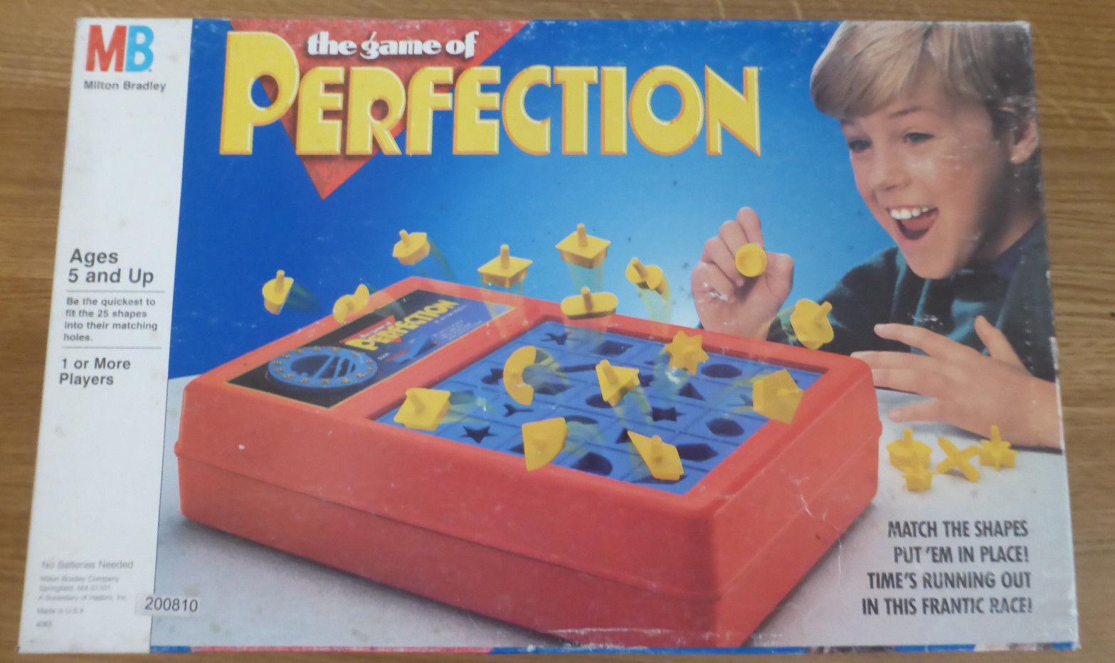 Perfection la perfection! Un jeu jeu jeu de MB à partir des 90 il excellent état 2e6e51