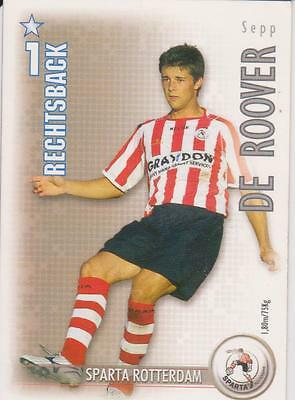 Leal All Stars Tcg 2006/2007 Trading Card Sepp De Roover Sparta Rotterdam