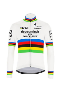 NEW-2020-cycling-DECEUNINCK-QUICK-STEP-WORLD-CHAMPION-winter-thermal-jersey
