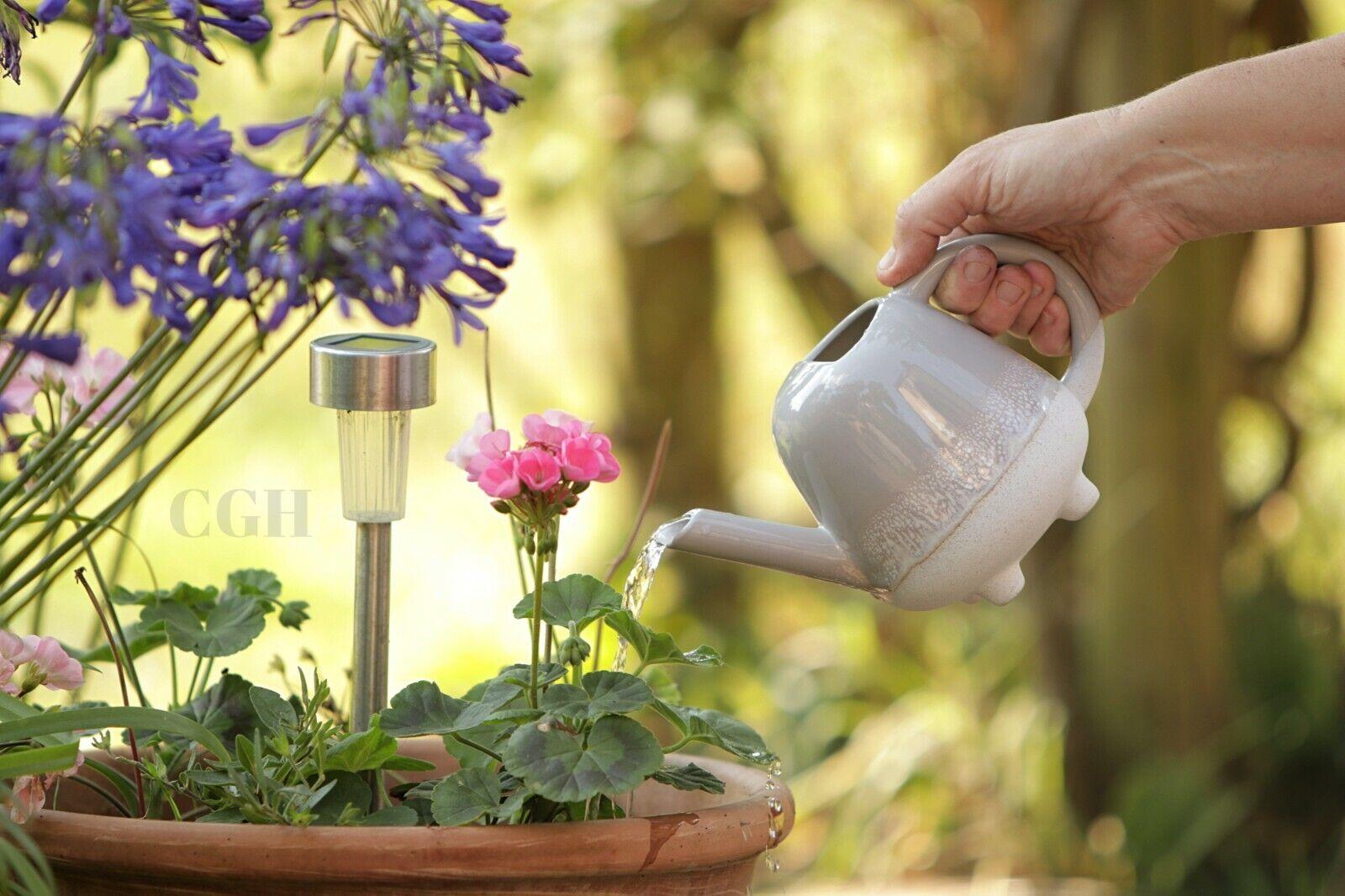 Mini Watering Can Glaze Grey Indoor Mojave - Sass&Belle