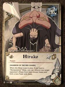 Naruto Cards TCG CCG Hiruko 1139 RARE COMBINED SHIPPING