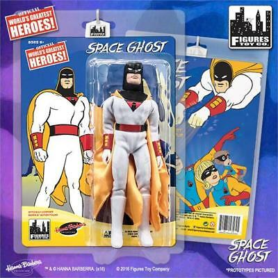 Space Ghost Retro 8 Inch Action Figures Series Jan Loose in Factory Bag