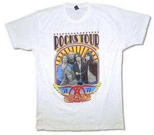 Aerosmith AEROSMITH IN CONCERT 1977 T-Shirt NWT 100/% Authentic