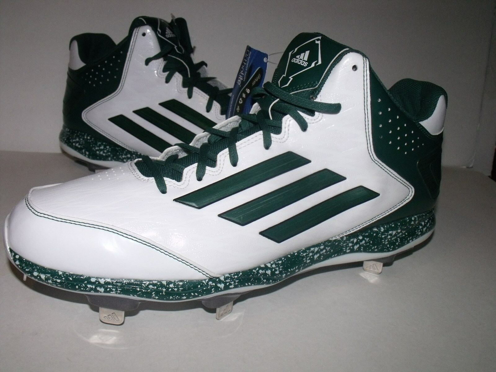 Adidas Power Alley 2 Mens Mid Metal BASEBALL Cleats Price reduction NEW Mens Sz 15 Brand discount
