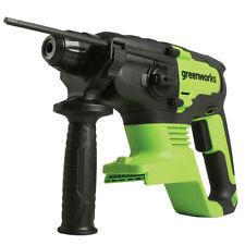 Greenworks Brushless Rotary Hammer Drill 4500 Bpm 24v Cordless Li Ion Bare Tool