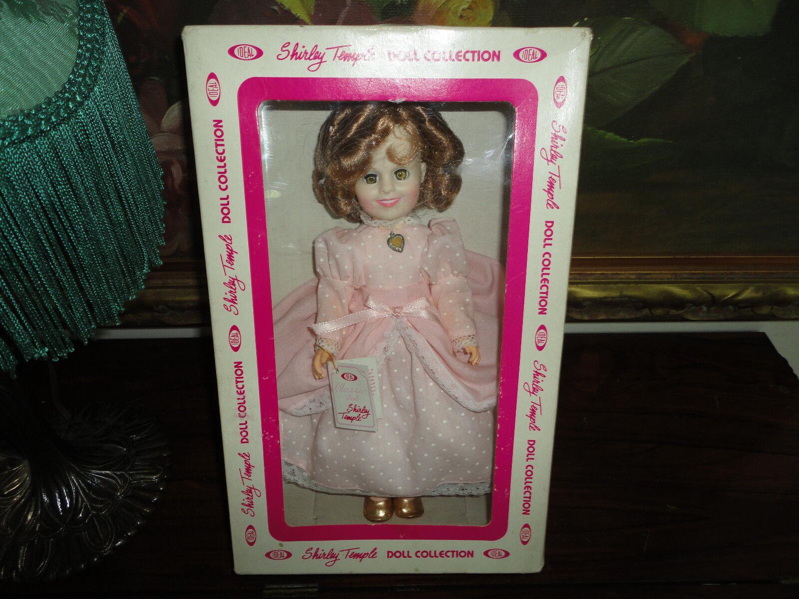 Ideal Shirley Temple Clásico Muñeca Como Nuevo Caja Original 12  ella está hecha para amar 1982