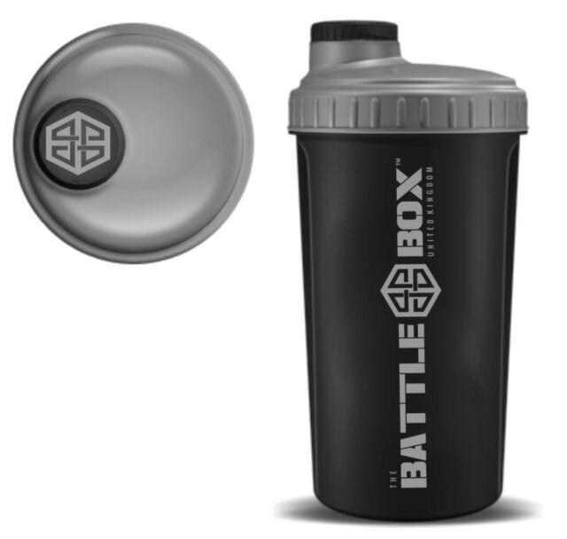 BattleBoxUK SHAKER 700ml Protein Shaker Bottle Mixer Blender Cup Creatine Whey