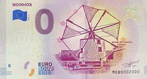 BILLET-0-EURO-MOHINHOS-ESPAGNE-2018-NUMERO-2000