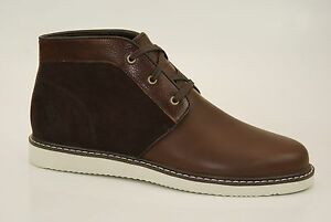 Timberland-Newmarket-Chukka-Bottes-Bottines-Homme-Chaussures-a-lacets-NEUF-a11oz