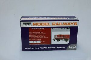 Dapol-OO-Gauge-7-Plank-Open-wagon-039-E-T-Ketteringham-039-Limited-Edition