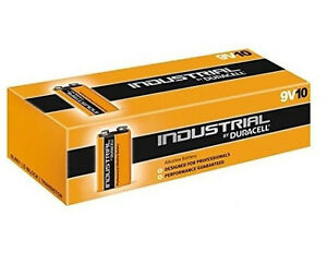 10-Duracell-9V-Industrial-Alkaline-Batteries-PC1604-MN1604-Professional-Procell