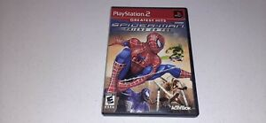 Spider-Man Friend or Foe (Sony PlayStation 2, 2007) PS2 Greatest Hits Game CIB