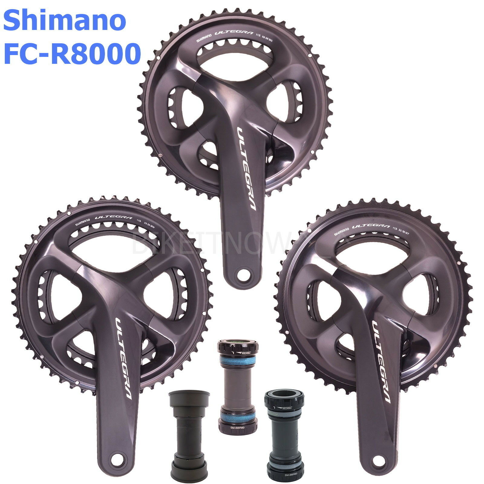 Shimano  Ultegra FC-R8000 Road Bike Crankset 11S 165 170 172.5 175mm,50 52 53T  come to choose your own sports style