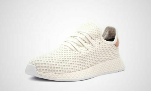 Adidas Men Deerupt Runner B41759 size 9.5 White Running shoes
