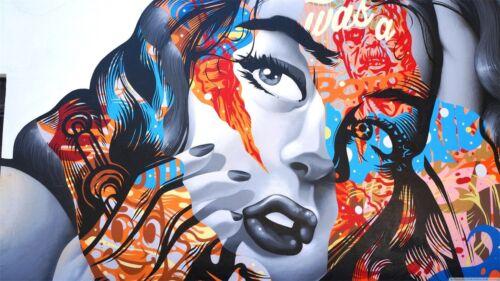 3D Graffiti Girl 785 Wall Paper Murals Wall Print Wall Wallpaper Mural AU Kyra
