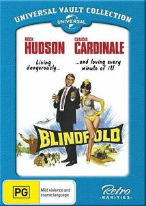 Blindfold-DVD-Rock-Hudson-Claudia-Cardinale-Region-4-NEW-SEALED