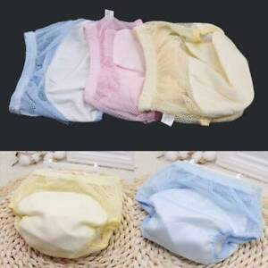 Reusable-Nappy-Cloth-Soft-Diapers-Pants-Baby-Breathable-Underpant-Outdoor-New-S8