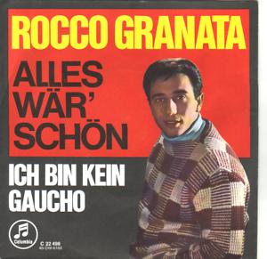 """""""7"""" - ROCCO GRANATA - Alles wär schön - Zwettl, Österreich - Vorwort Sollten Sie mit einem erhaltenen Artikel nicht zufrieden sein, wenden Sie sich bitte zunächst per E-Mail an mich. Bei berechtigten Mängeln etc. bin ich natürlich gerne bereit eine für Sie zufriedenstellende Lösung anzust - Zwettl, Österreich"""