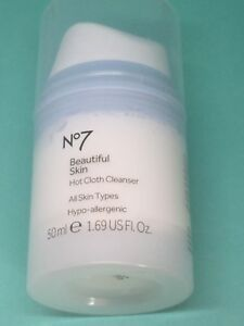 Boots-No7-beautiful-skin-Hot-cloth-cleanser-All-skin-types-50ml-New