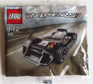 Lego Racers LE MANS RACERS Polybag NEW 7802 Stocking Stuffer